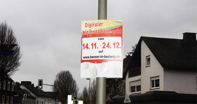 Erster digitaler Weihnachtsmarkt der Werbegemeinschaft