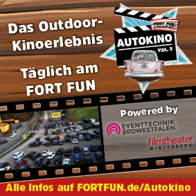 Autokino im Fort Fun