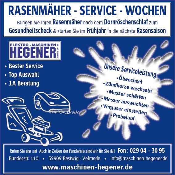 RASENMÄHER-SERVICE-WOCHEN